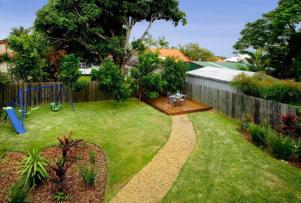 Backyard circa mid 2011
