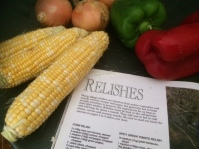 Our lovely corn about to be relished!